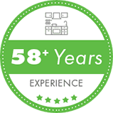 Badge 58years Green