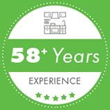 Badge 58years Green
